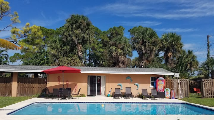The Last Resort Pool House
