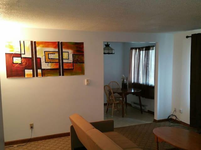 Beautiful 1bd apt by Niagara Falls - North Tonawanda - Apartamento