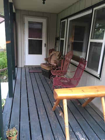Front Hangout Porch
