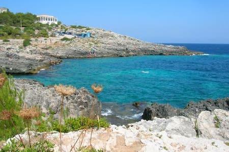 Le rocce, l'orizzonte, l'Adriatico - Novaglie - Huvila