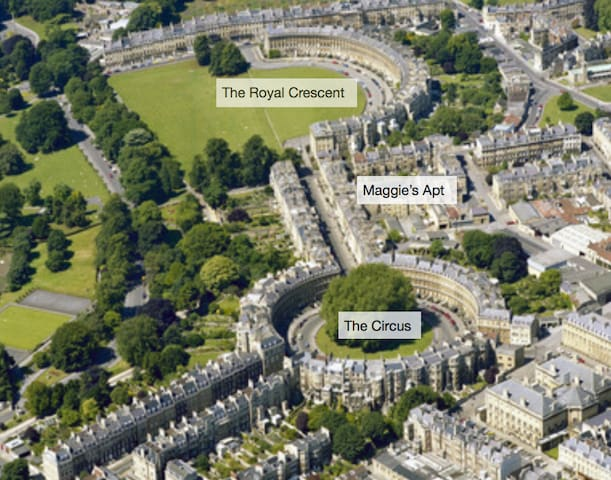 Maggie's Apartment - In the heart of Bath