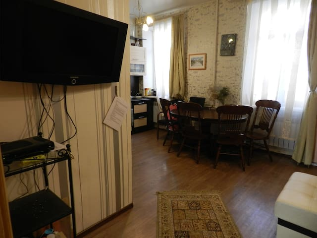 Clean and spacious apartment for families&friends
