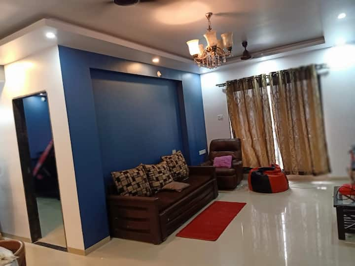 720 Sqft apartment with master bedroom - lonavala