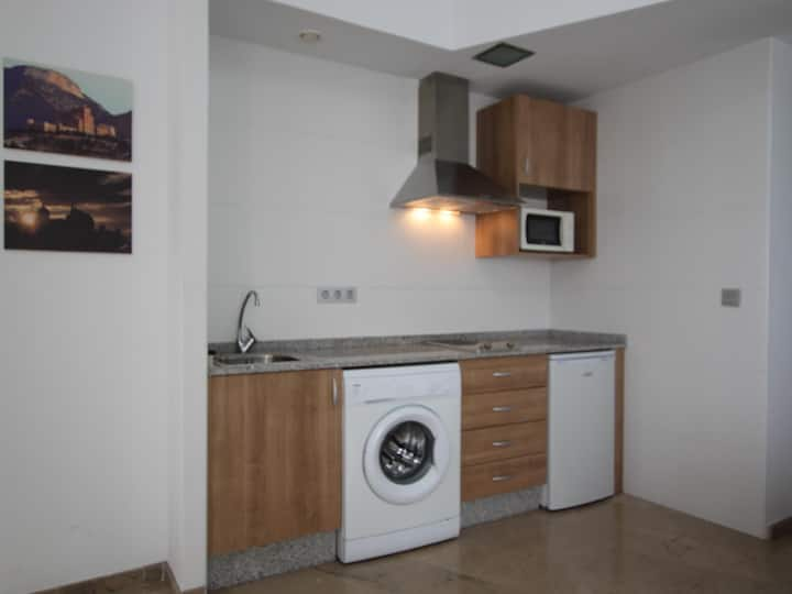 Functional penthouse in Caravaca for 4 people.