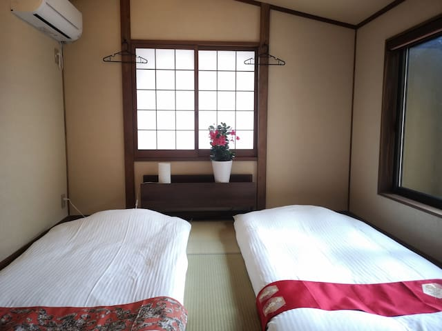 Machiya Leaves Tatami room for two people