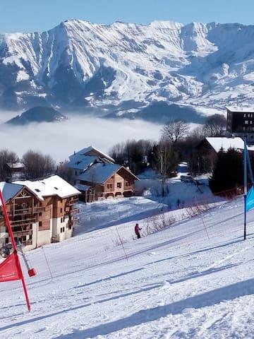 Chalet pied des pistes - Fontcouverte-la-Toussuire - Alpehytte