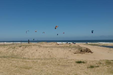 Alojamento kitesurf Laguna Garzón Punta - El Caracol