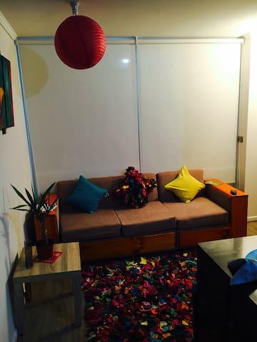 Apartment para pareja o máximo dos personas - Macul - Apartment