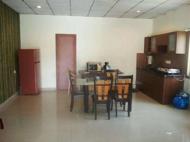 Hall, Kitchen, Dining 1 b