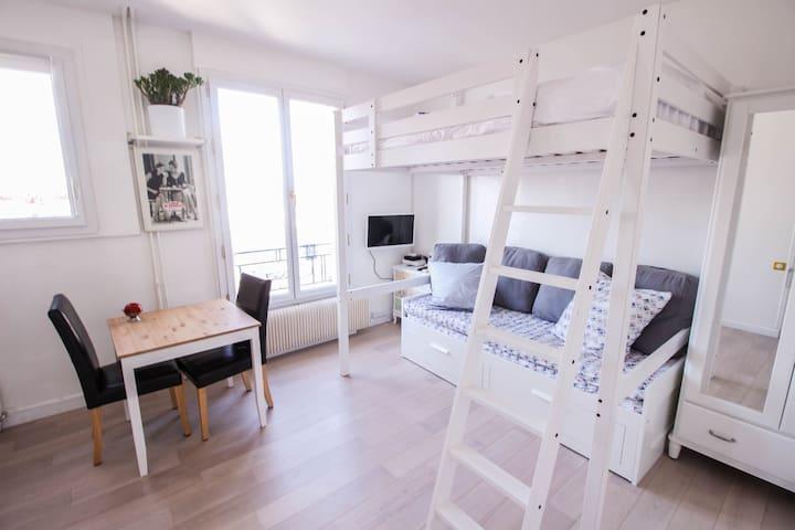 EIFFEL TOWER STUDIO - RUE DU COMMERCE - Paris - Apartemen