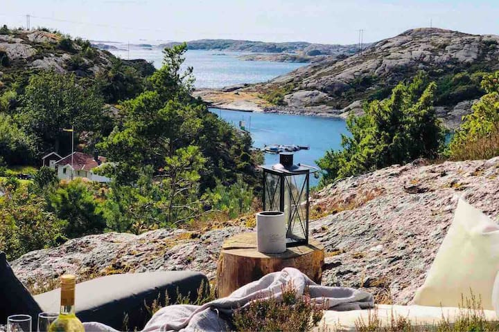 Swedish archipelago- fireplace & sauna