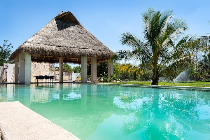 """""""Raices House"""" Mayan Culture & Nature Immersion"""
