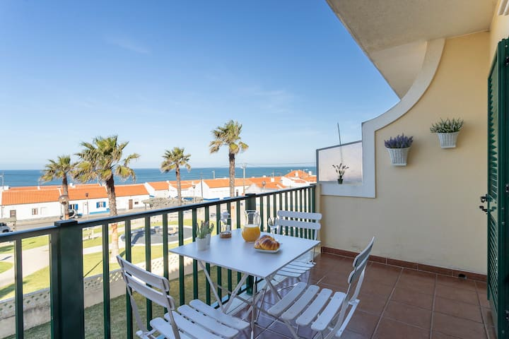 Ocean view apt.w/pool100m the beach. 31459AL