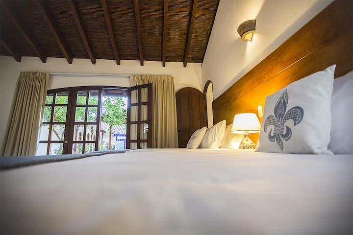 Villa Adela-  The Luxe  Double beds