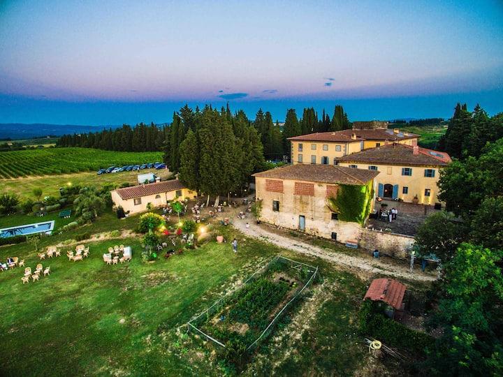Villa La Querce nel Chianti