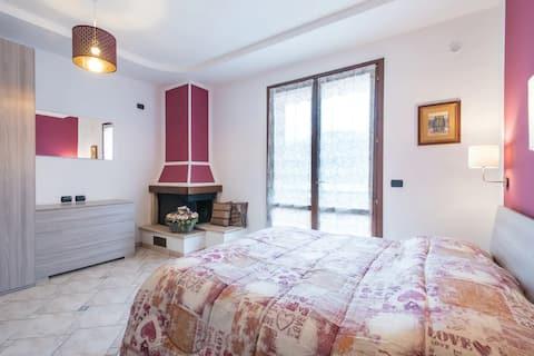Casa con vista nella Val Marecchia