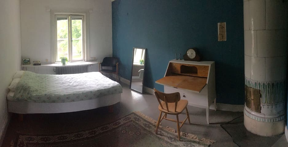 Ett av sovrummen
