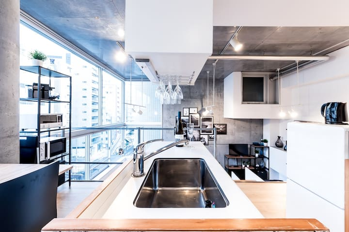COOL TOKYO FLAT with Tower View +