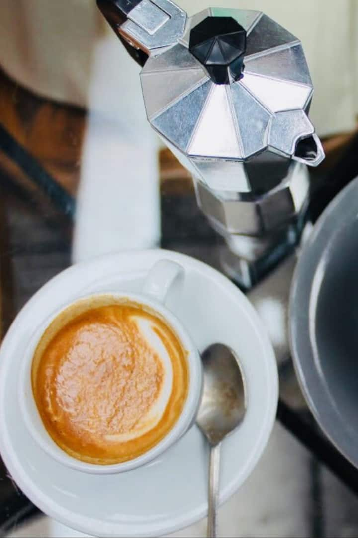 """A real espresso from a """"Torrefazione"""""""