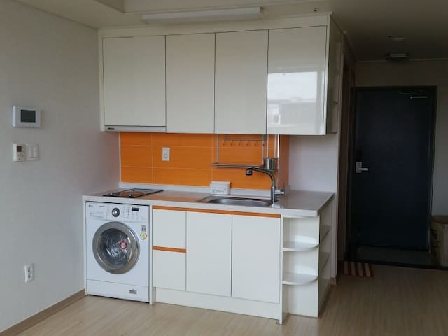 Full option convenient apt - 광주광역시 - Apartamento