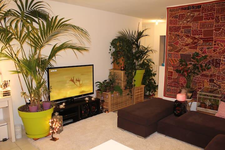 Appartement chaleureux et verdoyant - Lyon - Apartamento