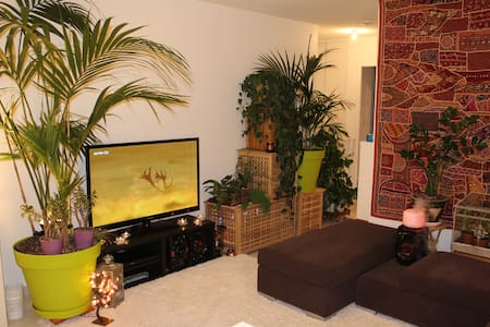Appartement chaleureux et verdoyant - Flat