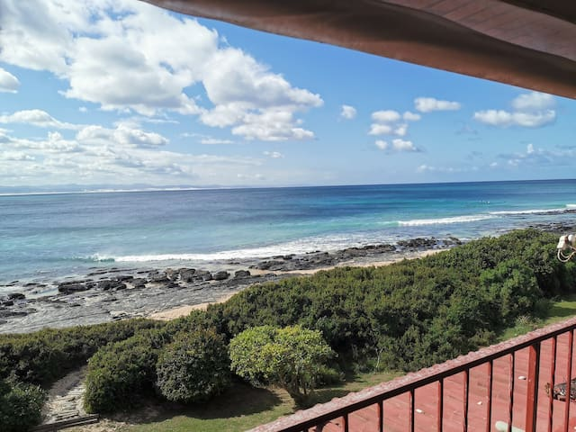 View from balcony towards Surfers point