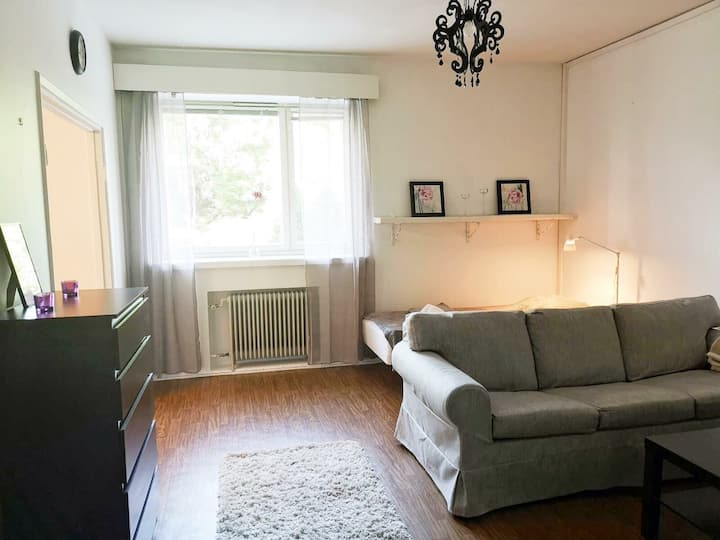 Apartment in the centre of Kotka, Kotkansaari