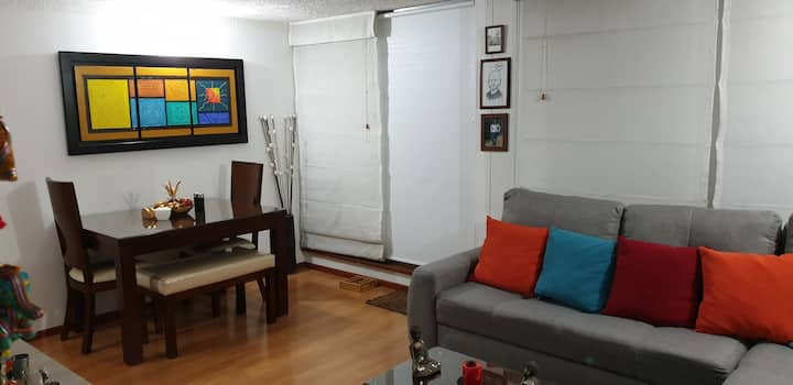 Habitación segura, limpia y acogedora. En Suba