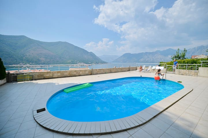A&S apartment with a pool
