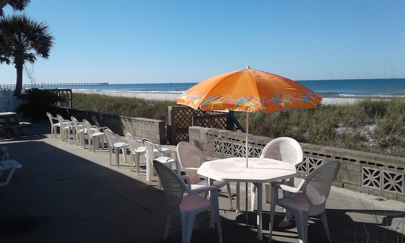 Your Private Deck on the Beach!