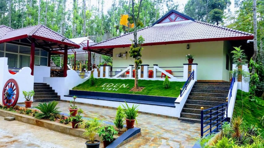 Stay with a view for up to 2 ppl | Chikkamagalur