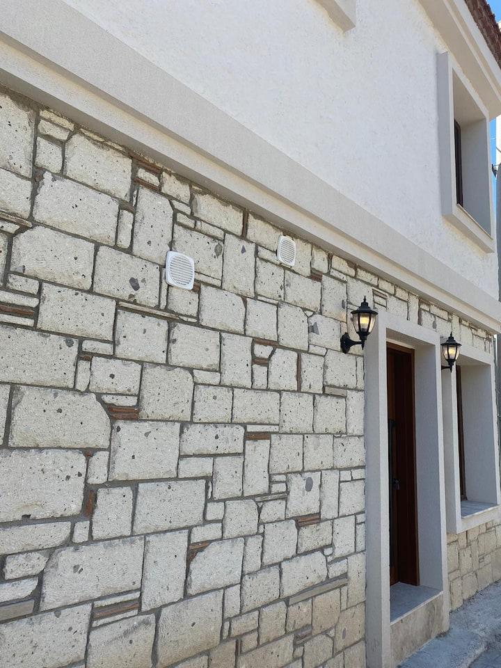 reisdere 2 katlı taş ev