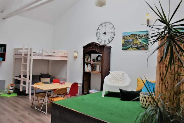 Artist Studio in the Historical Heart of Caen