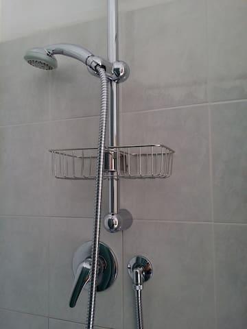 Shower (private ensuite bathroom)