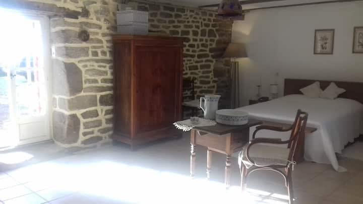 Votre chambre dans un manoir du XV ème siècle