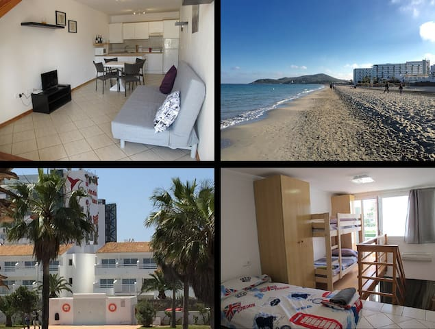 Flat6 Playa den Bossa next Ushuaia and beach - Sant Josep de sa Talaia