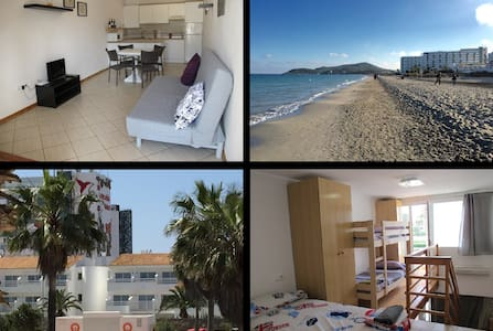 Flat6 Playa den Bossa next Ushuaia and beach - 圣约瑟夫沙塔莱亚 - 公寓