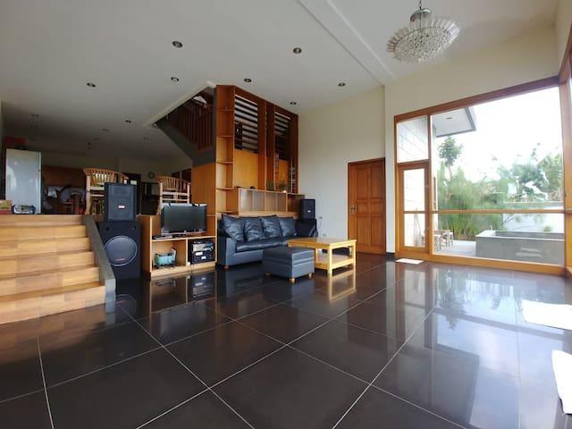 Living room for meeting Dancing etc