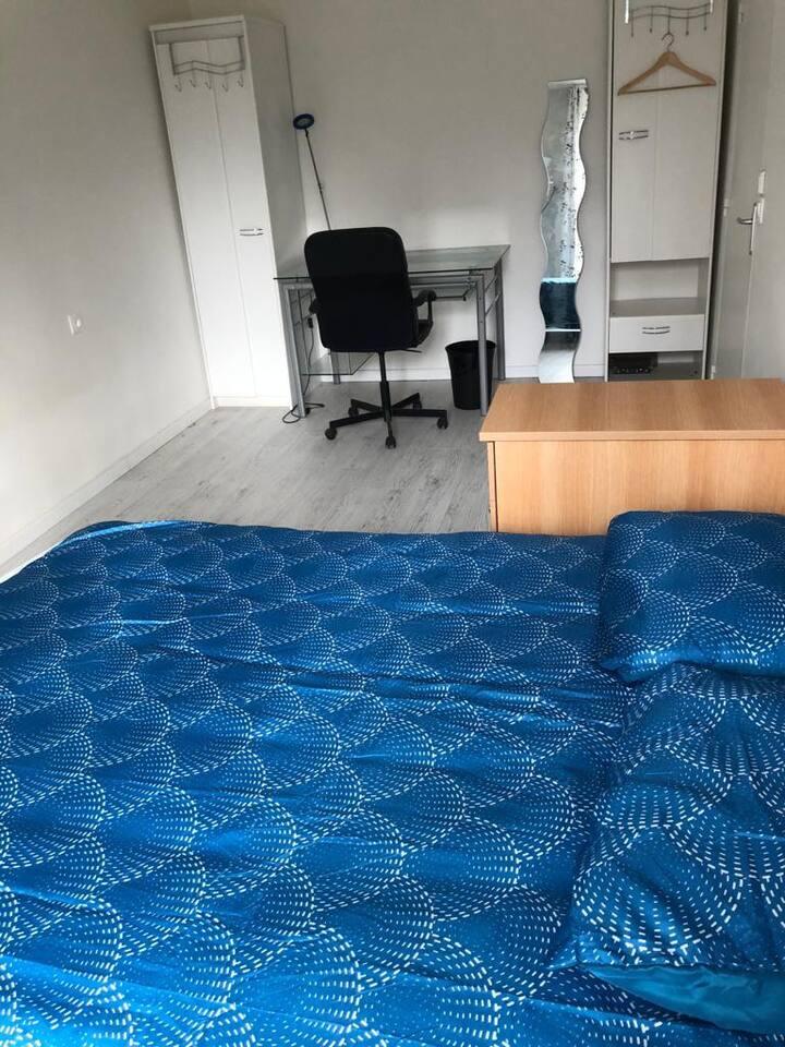 Espaces calmes  pour dormir ou  télétravailler