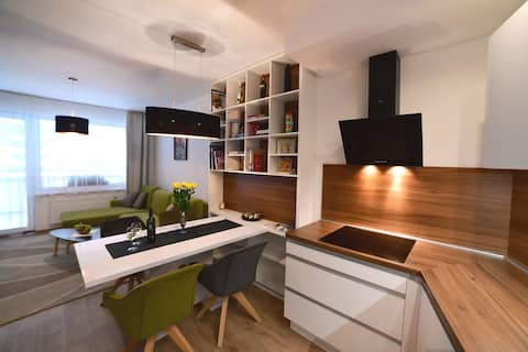 City hall residence apartment with free parking