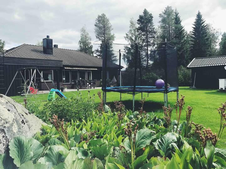 Rymlig och trivsam enplansvilla i Skellefteå