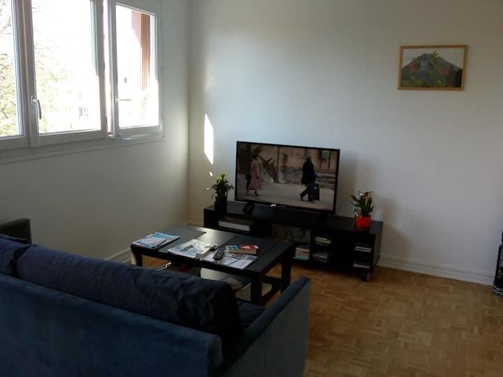 Appartement 2 pièces calme et pratique
