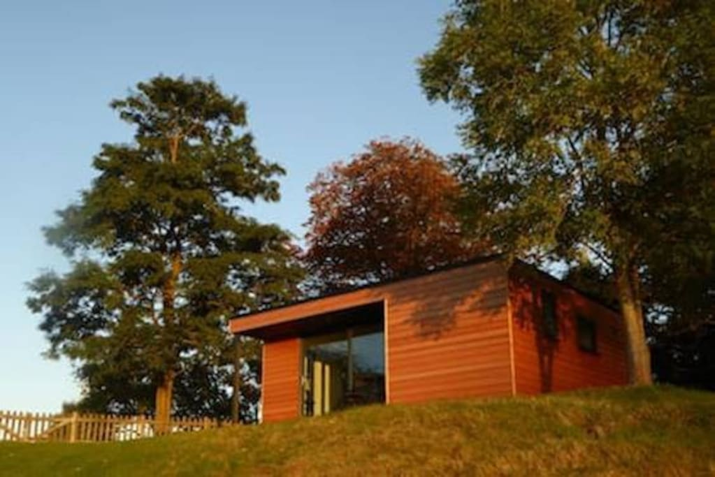 Herons Lodge, totally self contained with stunning views
