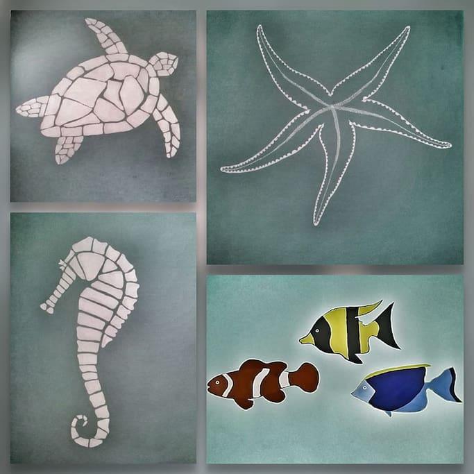 Nasze morskie dekoracje