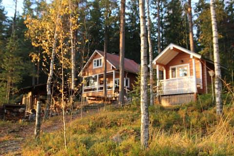 Karpalo-mökki, unique summer cottage
