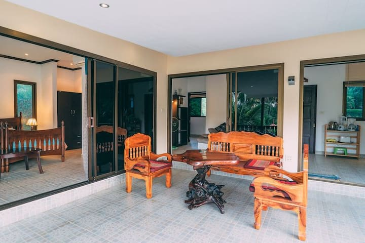 Comfortable apartments3С on a villa - Ko Samui - Appartement