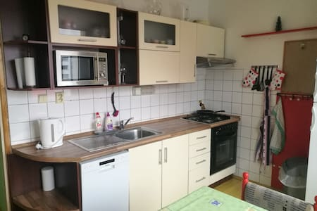 Fully equipped apartment with 2 bedrooms.