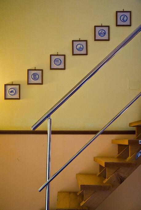 Stairway to mezanin