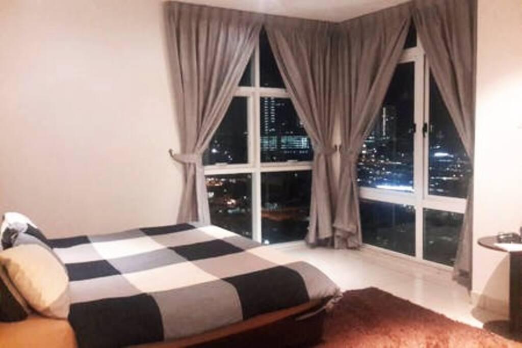 King Bed at Master Bedroom